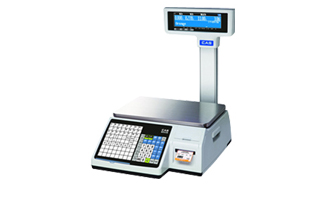 CAS CL 5200 Label Printing Scale